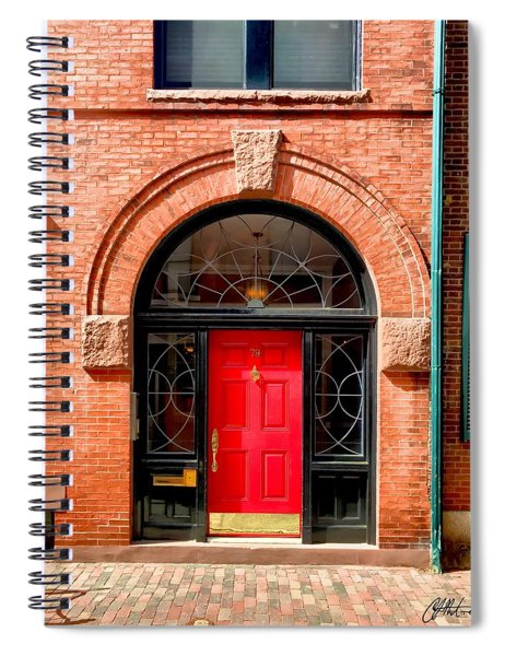 Beacon Hill Rowhome Spiral Notebook