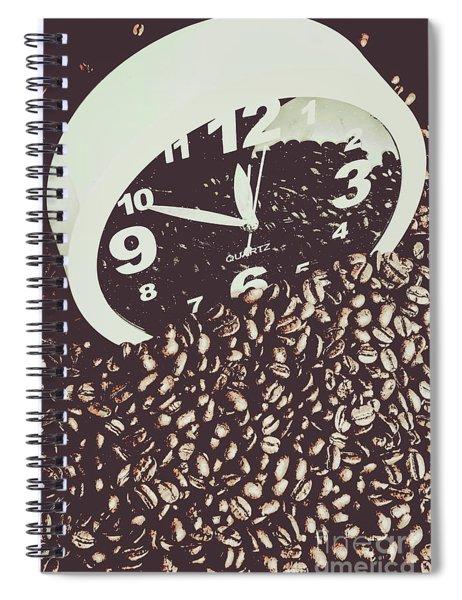 Bean Break Spiral Notebook