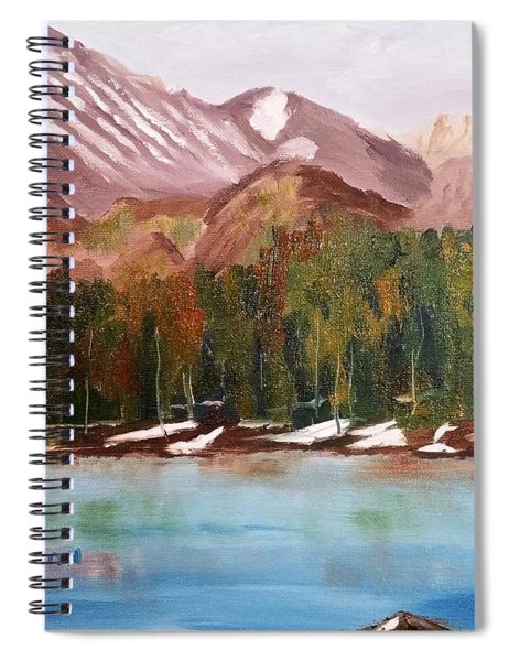 Bear Lake And The Keyboards Spiral Notebook
