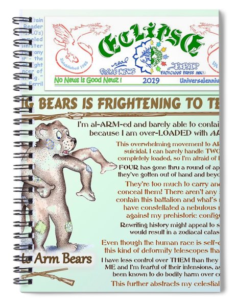 Bearing Arms Spiral Notebook