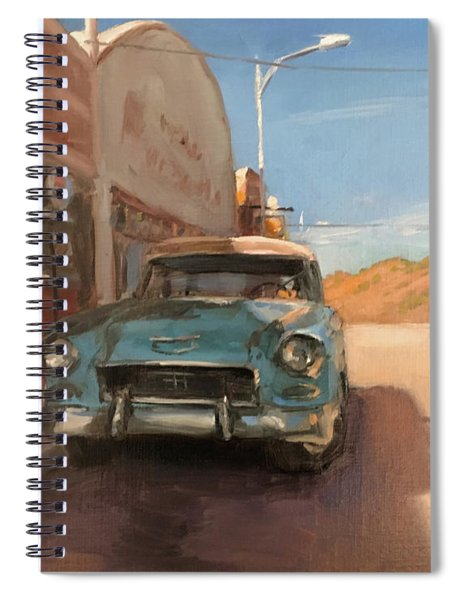 Beautiful Downtown Lowell, Arizona Spiral Notebook