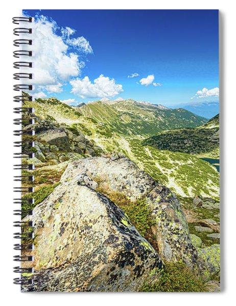 Beautiful Landscape Of Pirin Mountain Spiral Notebook