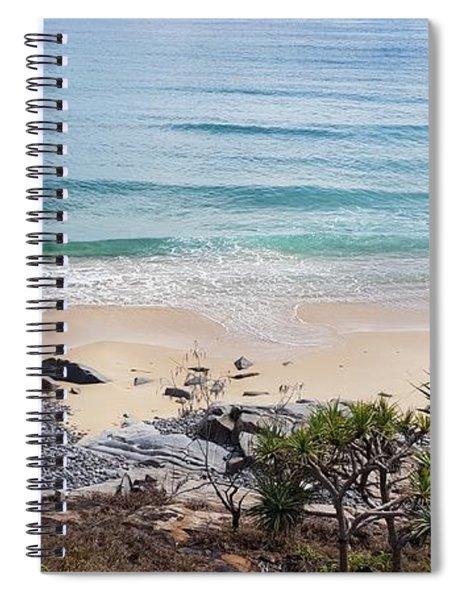 Beautiful Noosa Beach  Spiral Notebook