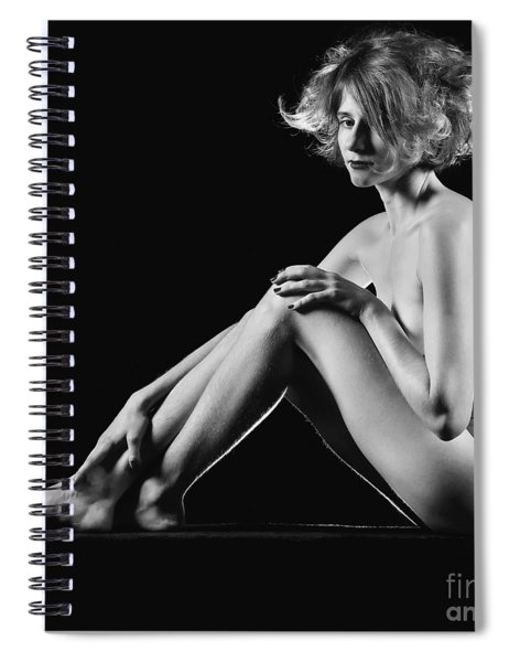 Beautiful Nude Woman Fineart Style Spiral Notebook