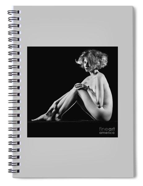 Beautiful Nude Woman Fineart Style Spiral Notebook