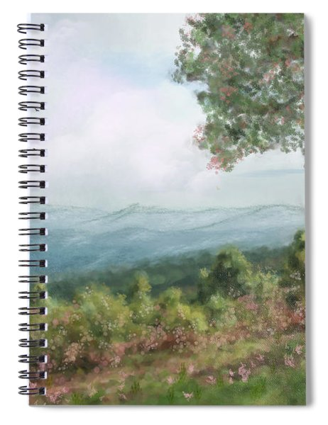 Beautiful Picnic Area Spiral Notebook