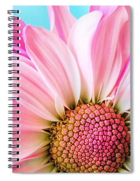 Beautiful Pink Flower Spiral Notebook