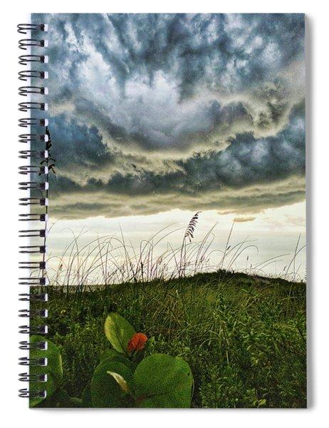 Beautiful Storm Spiral Notebook