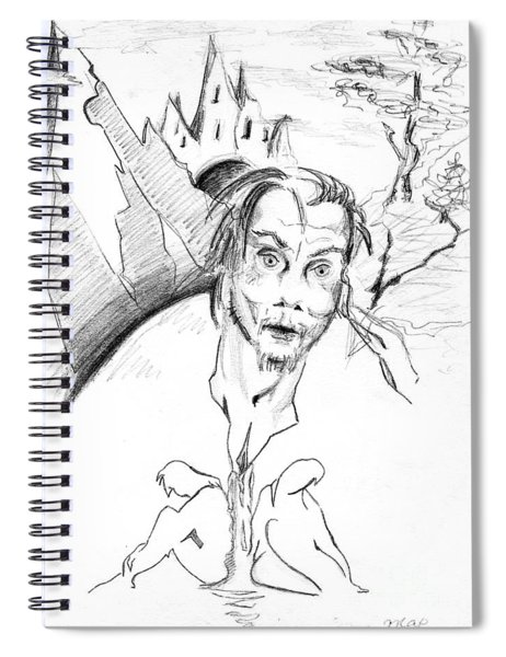 Beauty And Beast. 2001 Spiral Notebook