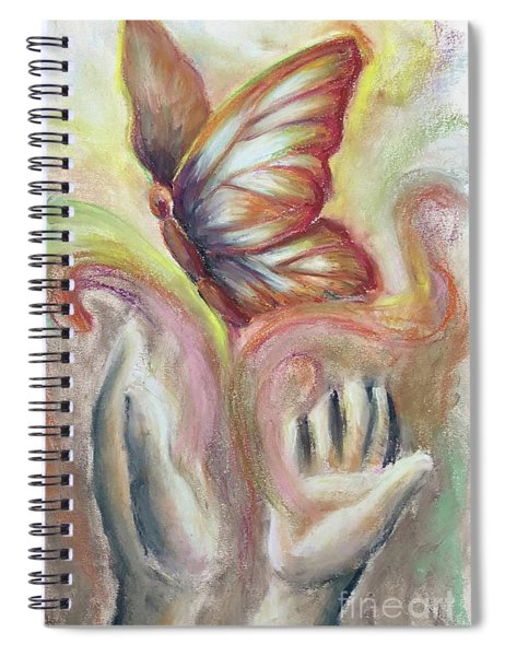 Beauty For Ashes Spiral Notebook