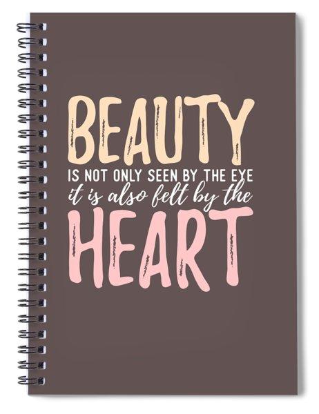 Beauty Heart Spiral Notebook