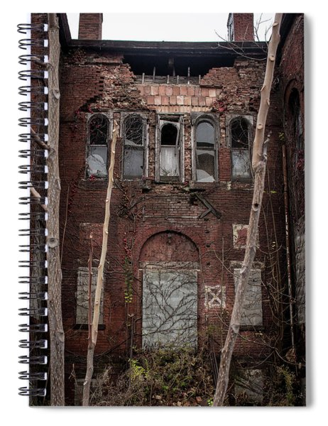 Beauty In Decay Spiral Notebook