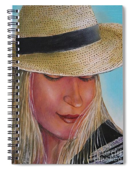 Beauty In The Hat Spiral Notebook