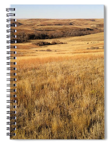 Beauty On The High Plains Spiral Notebook