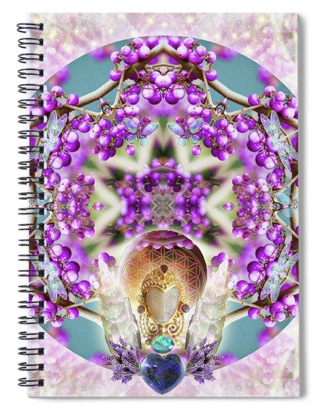 Callicarpa Spiral Notebook