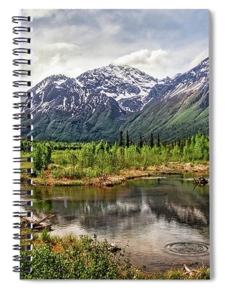 Beaver Pond, Eagle River Ak Spiral Notebook
