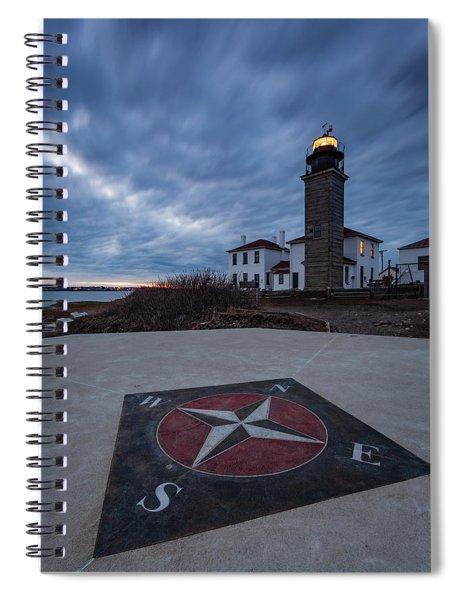 Beavertail Lighthouse Spiral Notebook