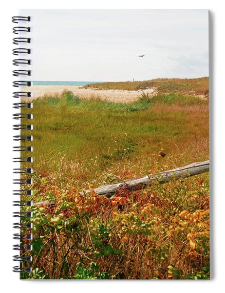Beckoning Beach Spiral Notebook