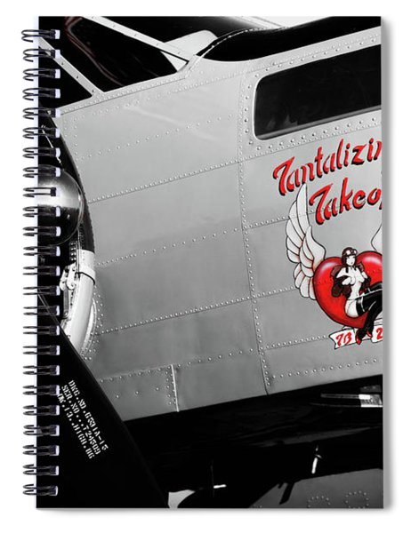 Beech At-11 In Selective Color Spiral Notebook
