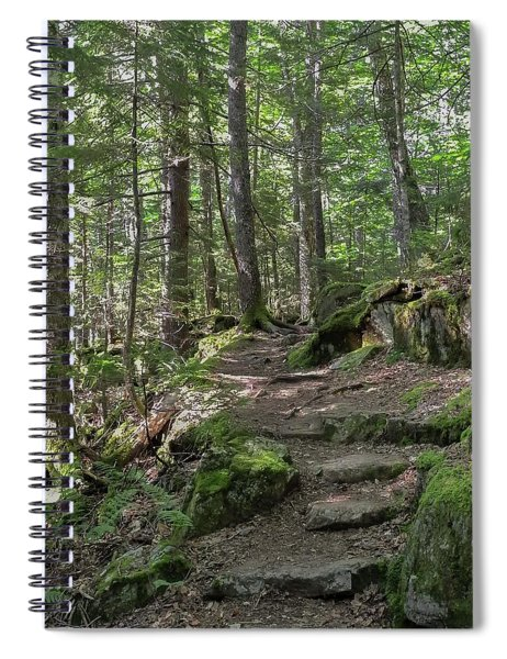 Beech Mountain Trail Acadia National Park Spiral Notebook