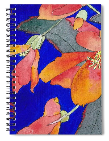 Begonias Spiral Notebook