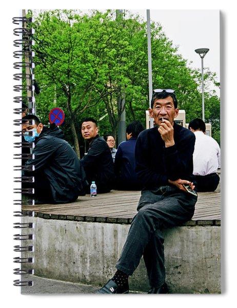 Beijing Street Spiral Notebook