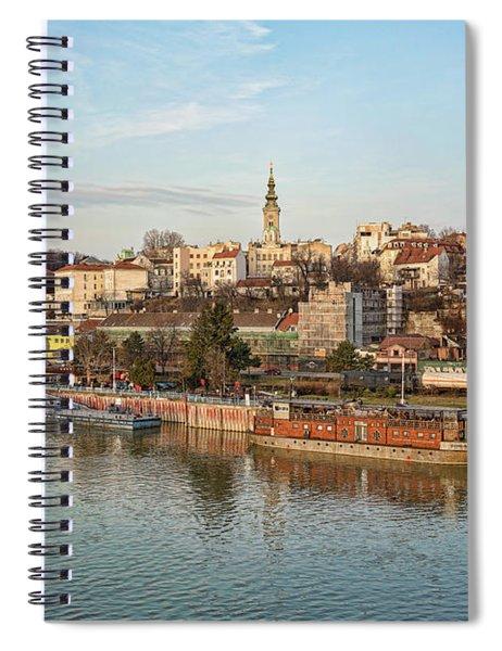 Belgrade Cityscape Spiral Notebook