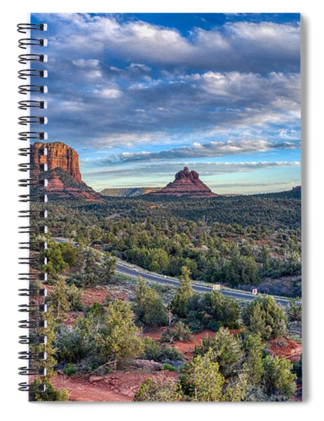 Bell Rock Scenic View Sedona Spiral Notebook