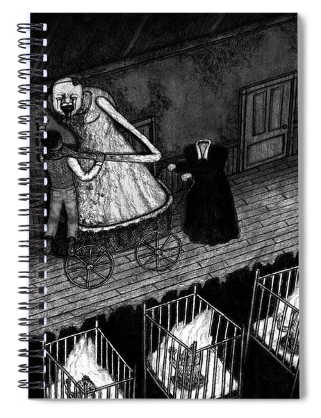 Bella The Nightmare Carriage - Artwork Spiral Notebook