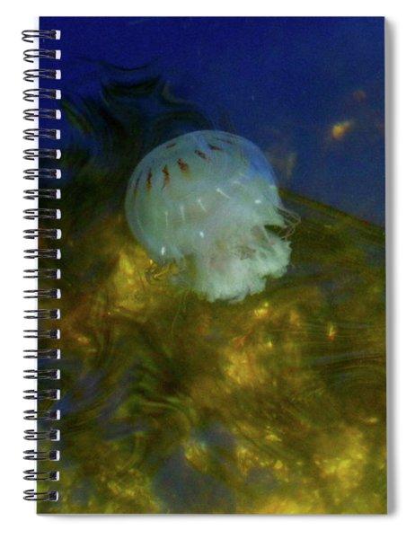 Below The Surface Spiral Notebook