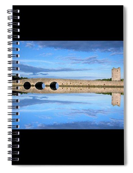 Belvelly Castle Reflection Spiral Notebook