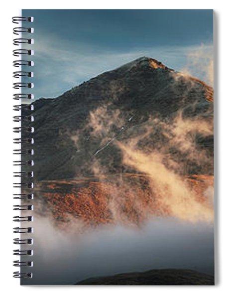 Ben Lomond Misty Sunset Spiral Notebook