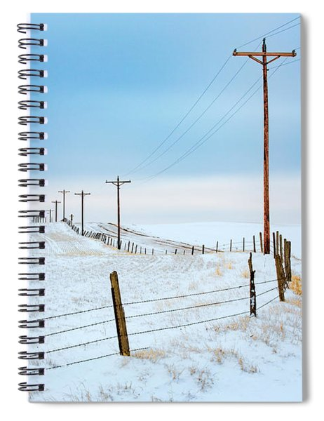 Bend In The Road Spiral Notebook