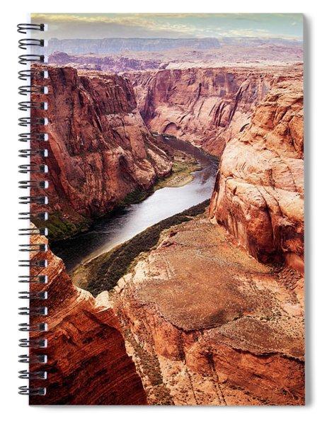 Bending River Spiral Notebook by Scott Kemper