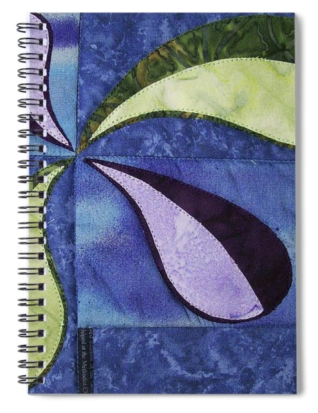 Bent Out Of Shape Spiral Notebook