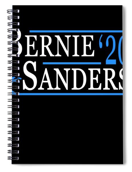 Bernie Sanders Blue Wave 2020 Spiral Notebook