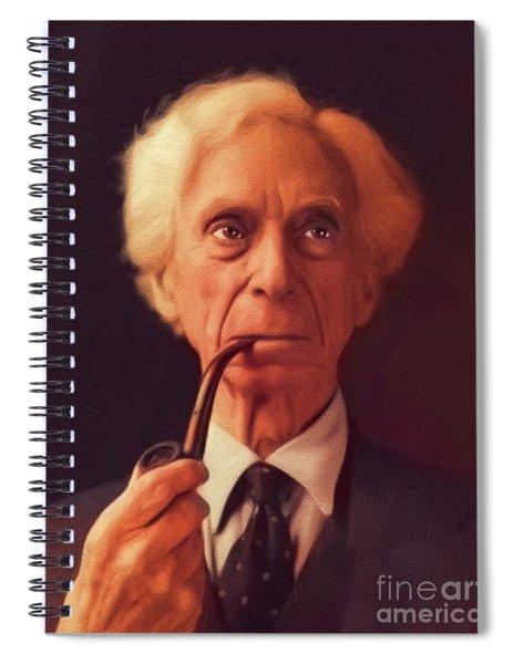 Bertrand Russell, Philosopher Spiral Notebook