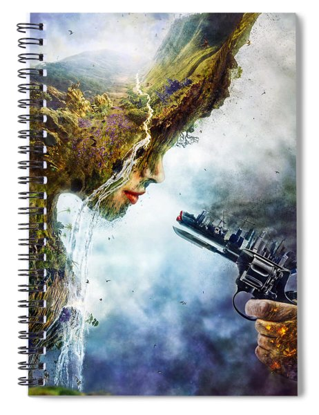 Betrayal Spiral Notebook