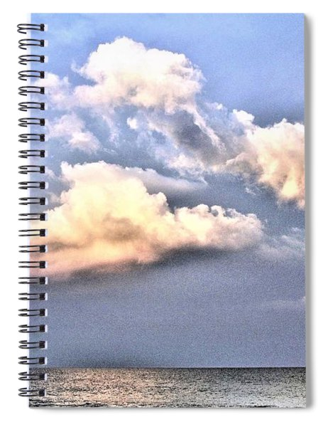 Between Clouds Spiral Notebook