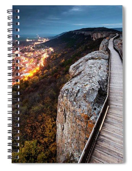 Between Epochs Spiral Notebook