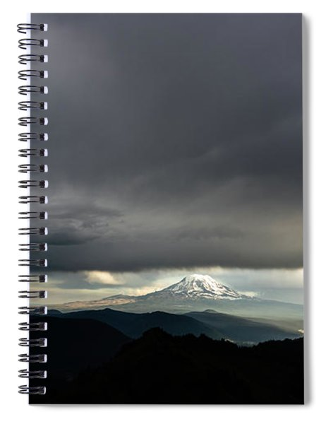 Between The Darkness Spiral Notebook