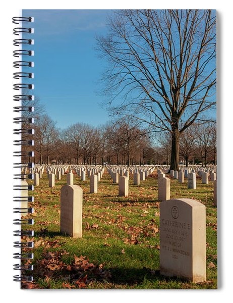 Beverly National Cemetery Spiral Notebook