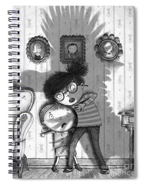 Beware Of The Snarkle Beast Spiral Notebook
