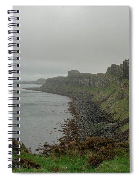 Beyond The Edge Spiral Notebook