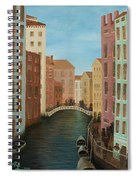 Beyond The Grand Canal Spiral Notebook