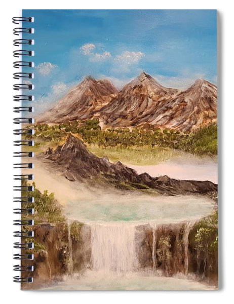 Beyond The Mountains Spiral Notebook