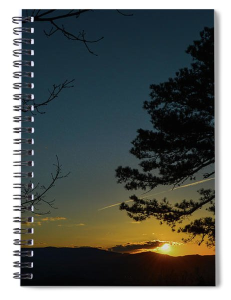 Beyond The Now Spiral Notebook