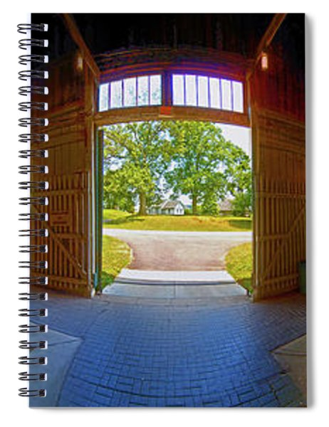Big Barn Kentucky Horse Park 360 Spiral Notebook