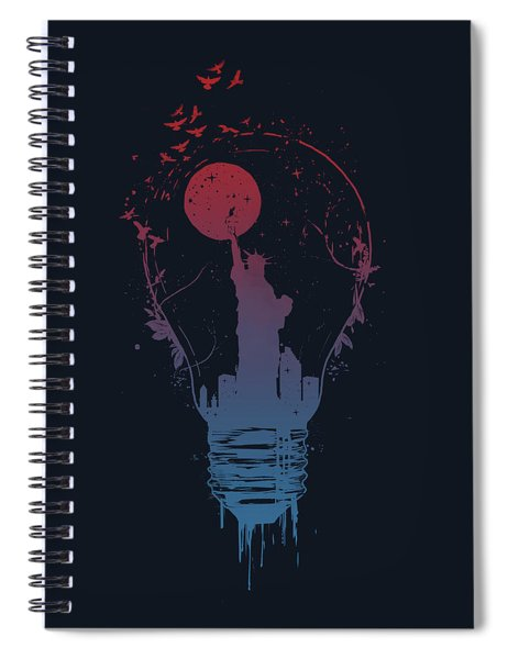 Big City Lights Spiral Notebook