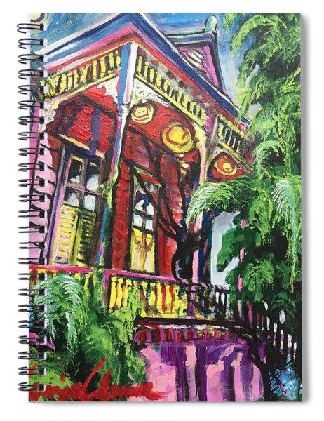 Big Pink Spiral Notebook